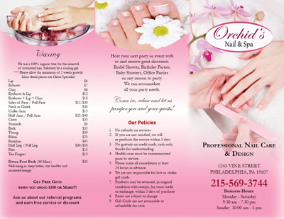 nailsalonprinting.com - Business Cards - Postcards - Brochures ...