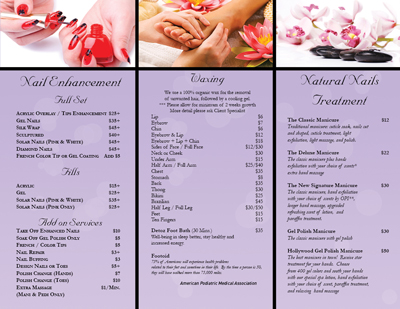 Nailsalonprinting Com Business Cards Postcards