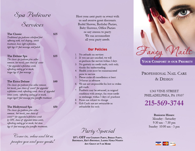 Nailsalonprinting.Com - Business Cards - Postcards - Brochures