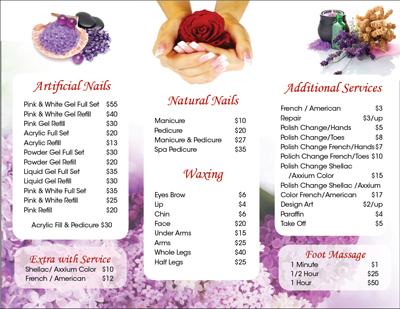nailsalonprinting.com - Business Cards - Postcards - Brochures ...