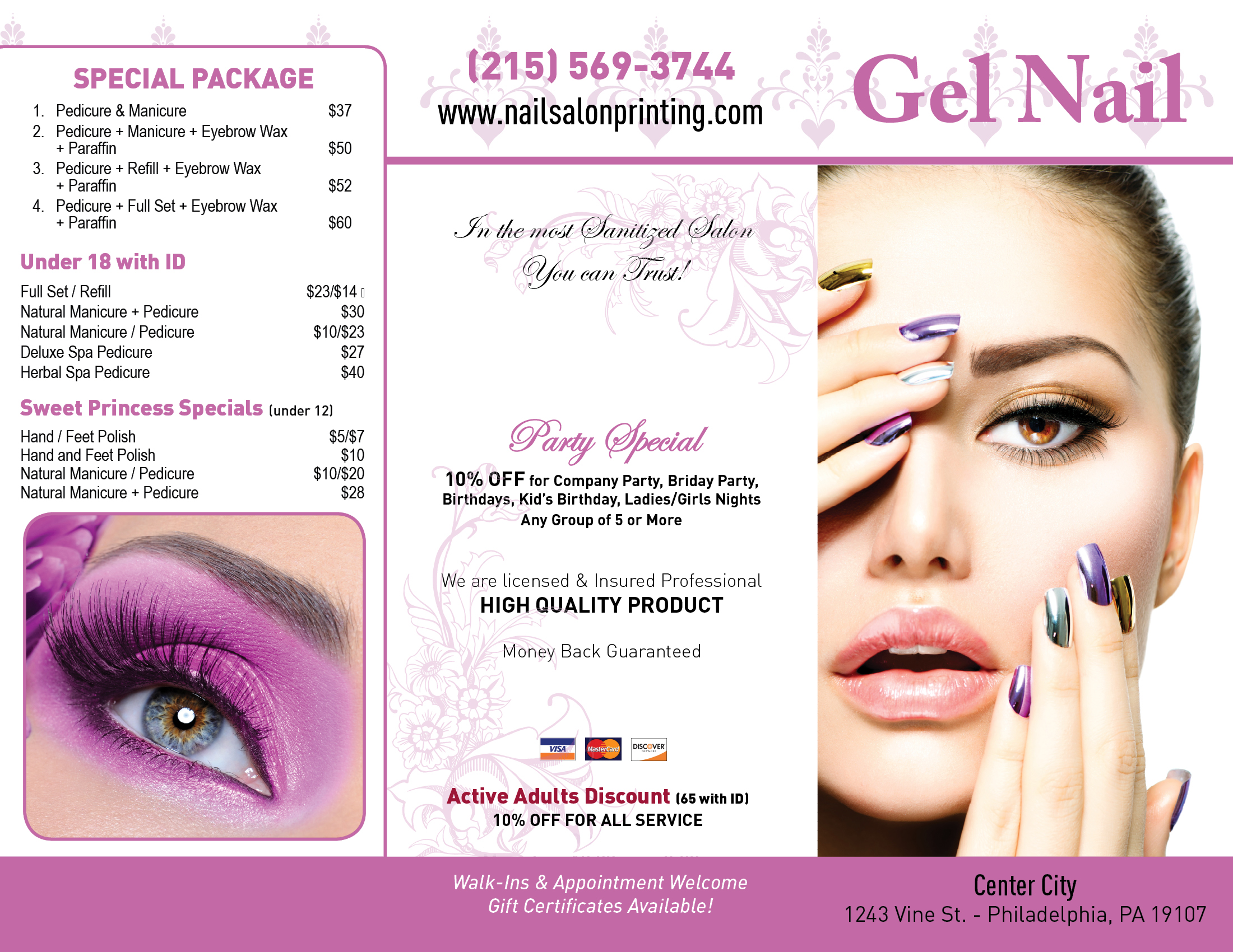 Perfect Nail Spa Posters Collection - Nail Art Ideas - morihati.com